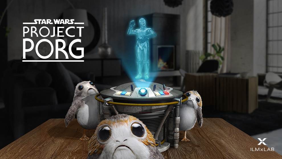 Star Wars: Project Porg Mixed Reality Experiment Announced