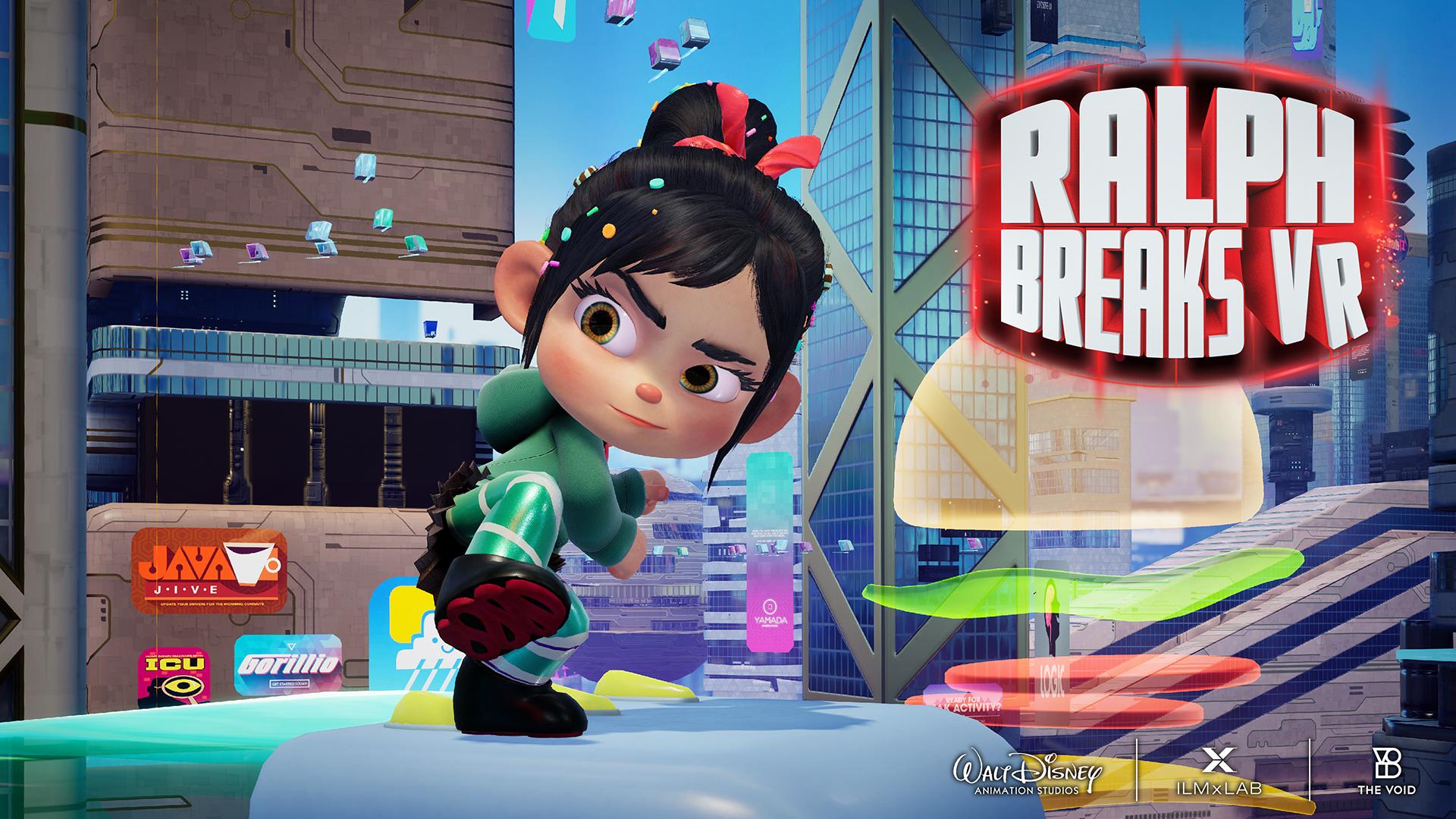 Ralph Breaks VR Launch Details Announced