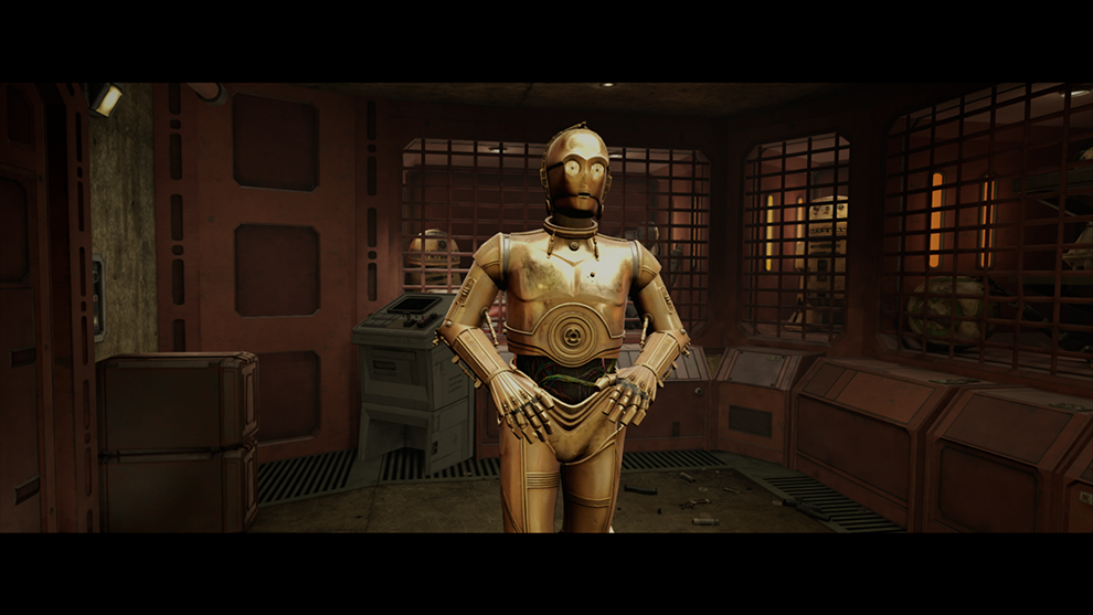 Anthony Daniels Joins the Cast of Star Wars: Tales from the Galaxy's Edge